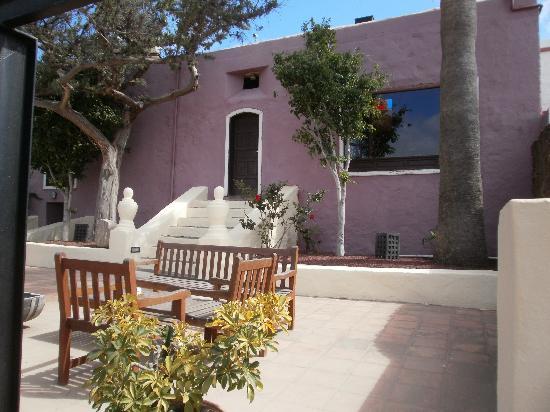Finca de las Salinas : entrada casa principal