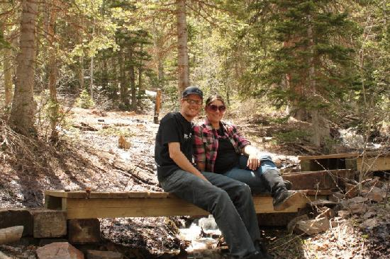 Connie & Greg's Pine Creek Cabins Resort: Off the Paiute Trail in the moutains!