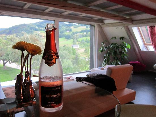 Le Chat Rouge : Dazu einen Crémant...