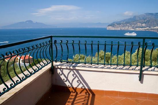 Hotel La Badia : Room 5 terrace