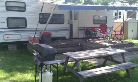 Niagara RV Rentals : Our RV accommodation
