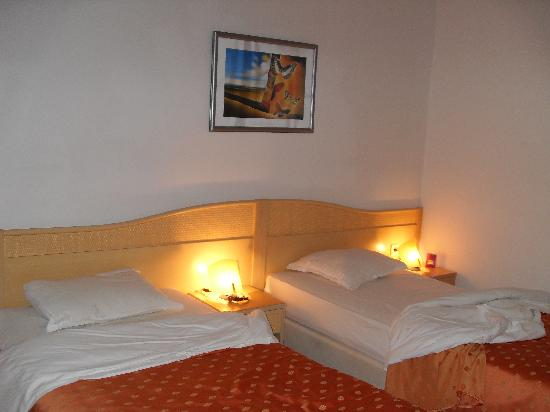 Globus Hotel: bedroom