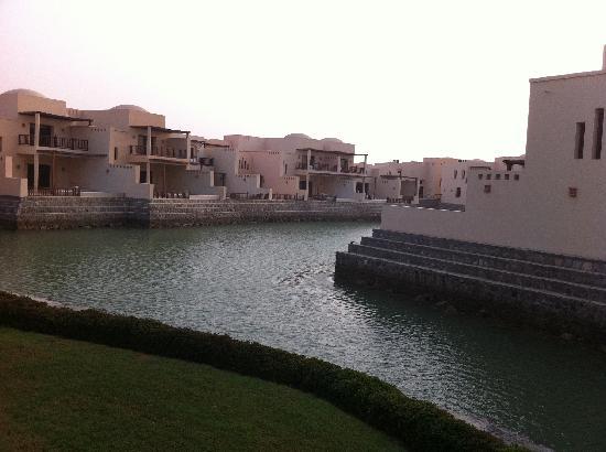 Cove Rotana Resort Ras Al Khaimah: villas on the lagoon