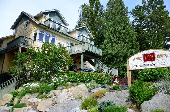 The Bonniebrook Lodge: Where we stayed