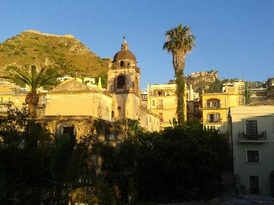 Taormina, Italie : church of san pancrazio
