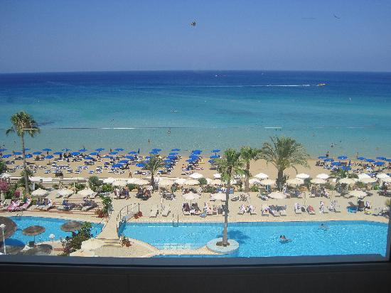 Sunrise Beach Hotel : view from balcony