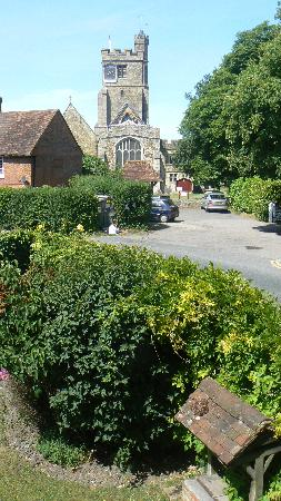 Tudor Cottage Bed and Breakfast : View  over the garden