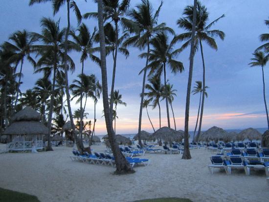 Dreams Palm Beach Punta Cana : sunset