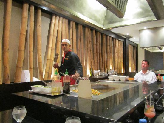 Dreams Palm Beach Punta Cana: Hibatchi
