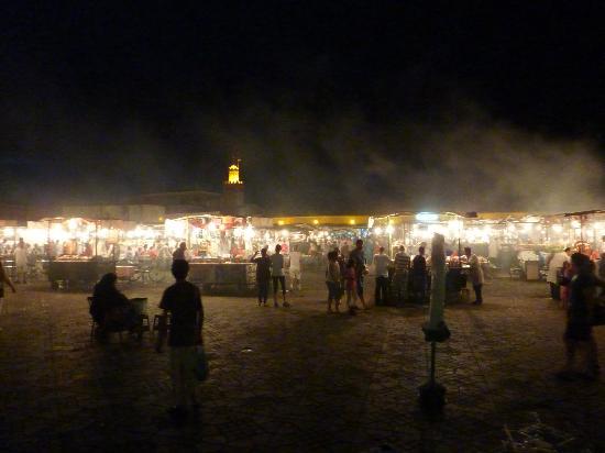 Jereca Farm : Marrakech by night.