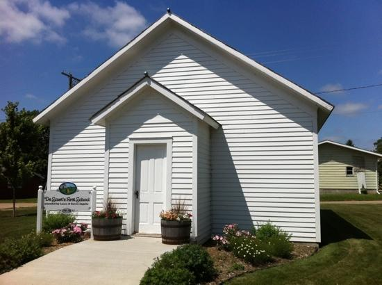De Smet, Dakota du Sud : Laura's school house