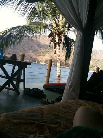Casa Pericos: View from Penthouse day bed