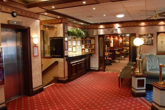 Ruskin Hotel: Hotel Lounge