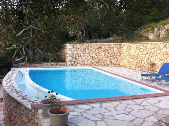 Idilli Villas Lefkada: our pool!!