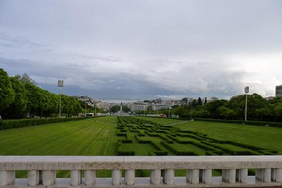 Tagus Home: Panoramic view from the top of Parque Eduardo VII