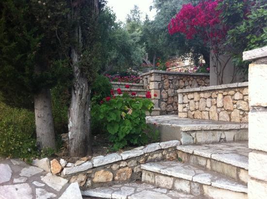 Idilli Villas Lefkada: steps ;-)