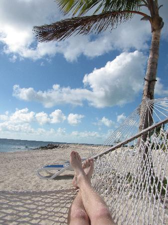 Cape Eleuthera Divers: Relaxing on Sunset beach
