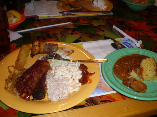 terrible s buffet some of the food from the buffet picture of s7 rh tripadvisor com