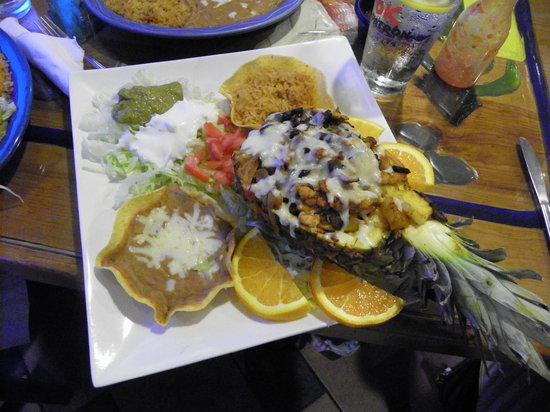 Cocina de Carlos: The amazing pineapple dish