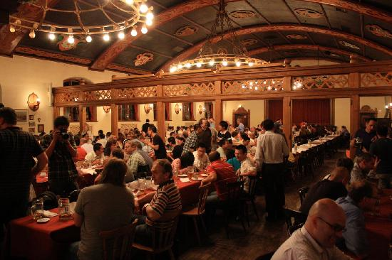 This Is What You D Expect A Bavarian Beer Hall To Look