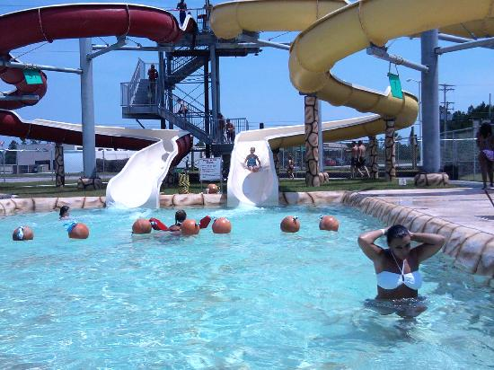 Waveland, MS: Barnacle Bill's Waterslide