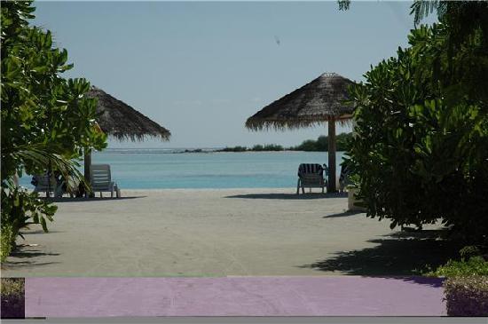 Cinnamon Dhonveli Maldives : beach