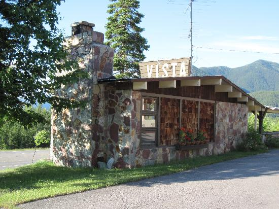 Vista Motel: Small Front Cabin with Fireplace