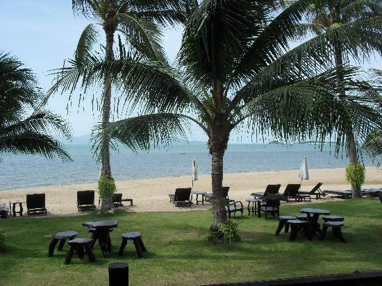 Baan Bophut Beach Hotel: la vista excelente