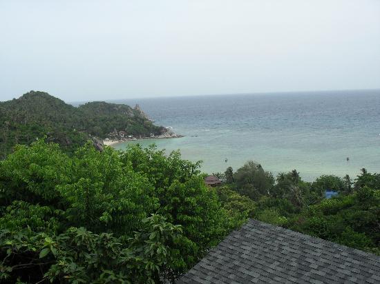 Chintakiri Resort: la vista desde el balcon