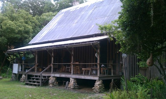 Dudley Farm Historic State Park: Original Dudley Home-you can tour inside