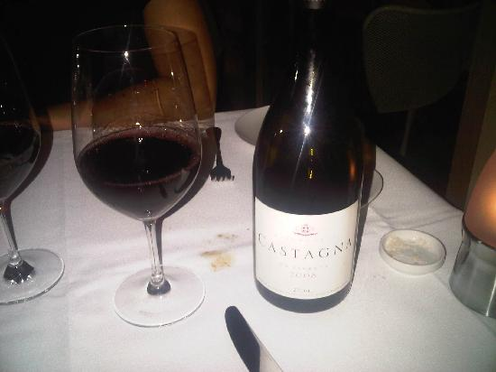 The Bistro at Manly Pavilion: Castagna wines