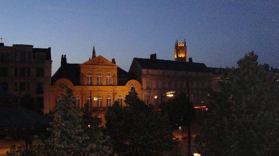 Gante, Bélgica: La noche en gent