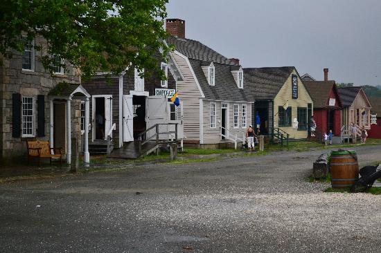 Mystic Seaport: the village
