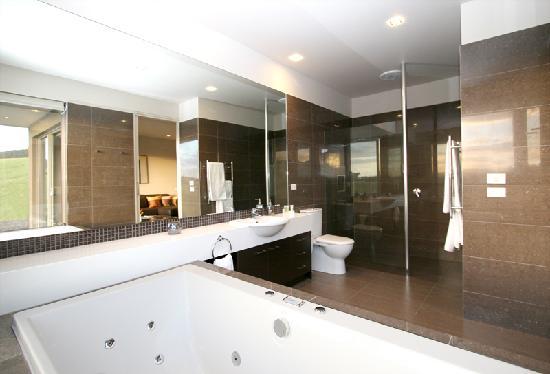 Gracedale Yarra Valley: Chocolate Suite Bathroom