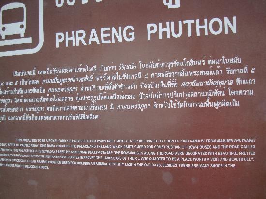 The Bhuthorn: the local park