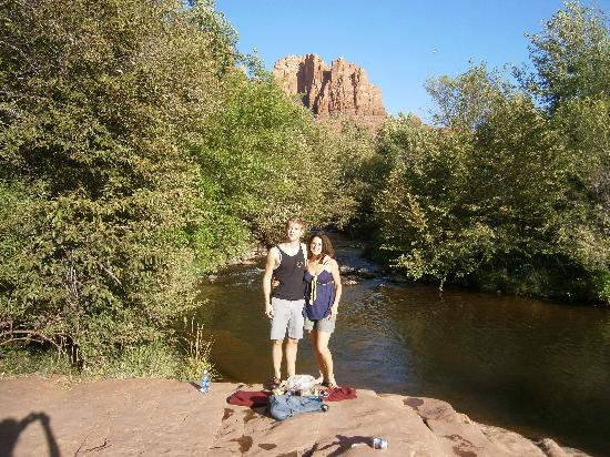 Sedona Healing Massage: Peaceful walk at Red Rock following Michelle's excellent work!