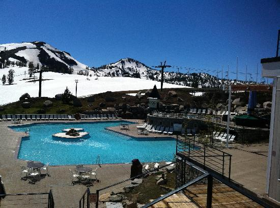 Village center picture of squaw valley california - High camp swimming pool squaw valley ...