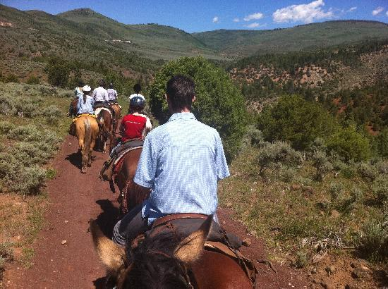 Black Mountain Ranch: Great trail ride, incredible views.