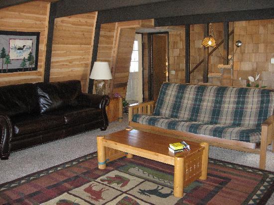 Boulder Creek Resort : Living room