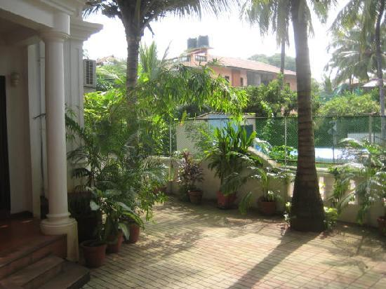 Casa Mia, Goa: Patio