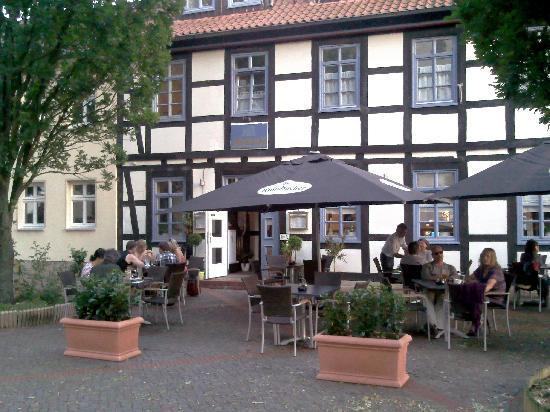 Hessisch Oldendorf, Almanya: Biergarten