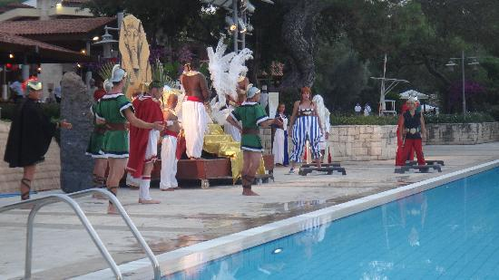 Club Med Kemer: spectacle