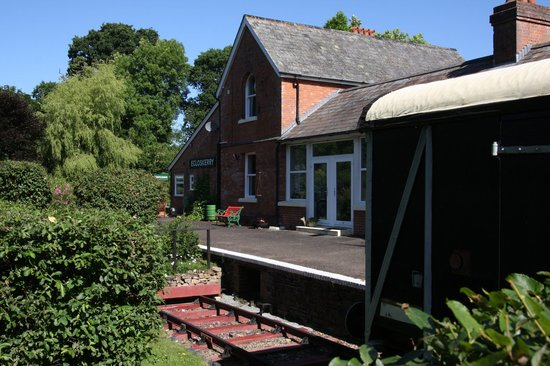 The Old Station: Goods carriage & station
