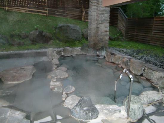 Asahidake Onsen Hotel Bear Monte : 露天風呂