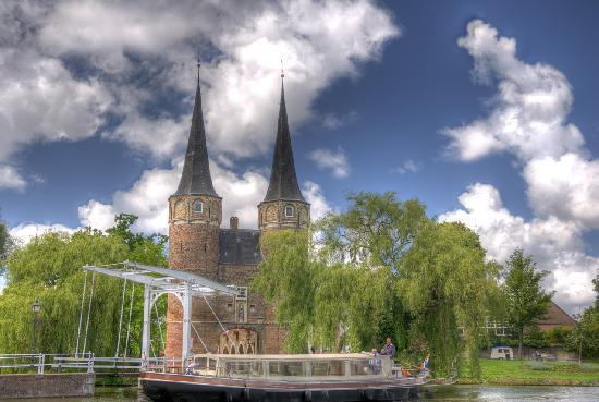 Delft, Nederland: Oostepoort