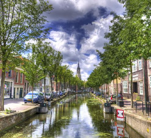 Delft, The Netherlands: Canals