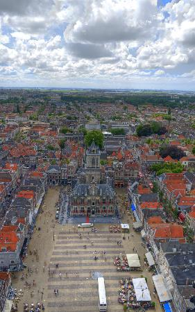 Delft, Nederland: Best view on top