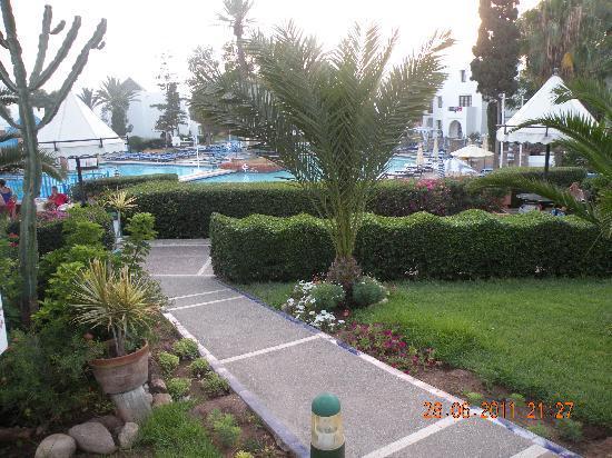 Occidental Allegro Agador : jardin
