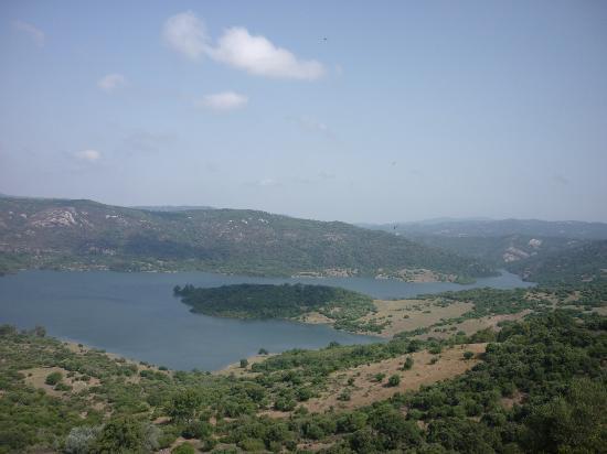 Complejo Turistico Castillo Castellar: Embalse desde el balcón de los amorosos