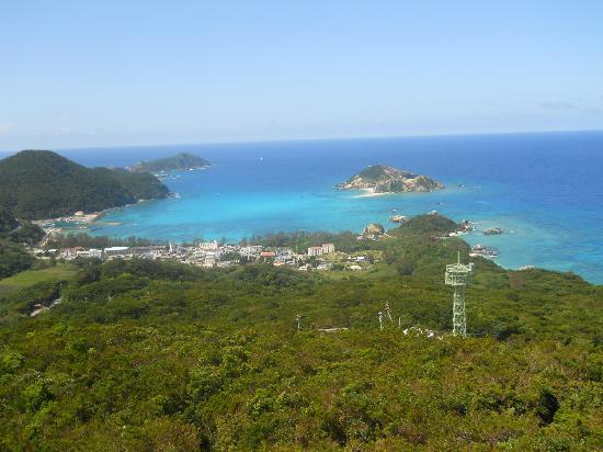 Tokashiki-jima Island: View from Forest Park
